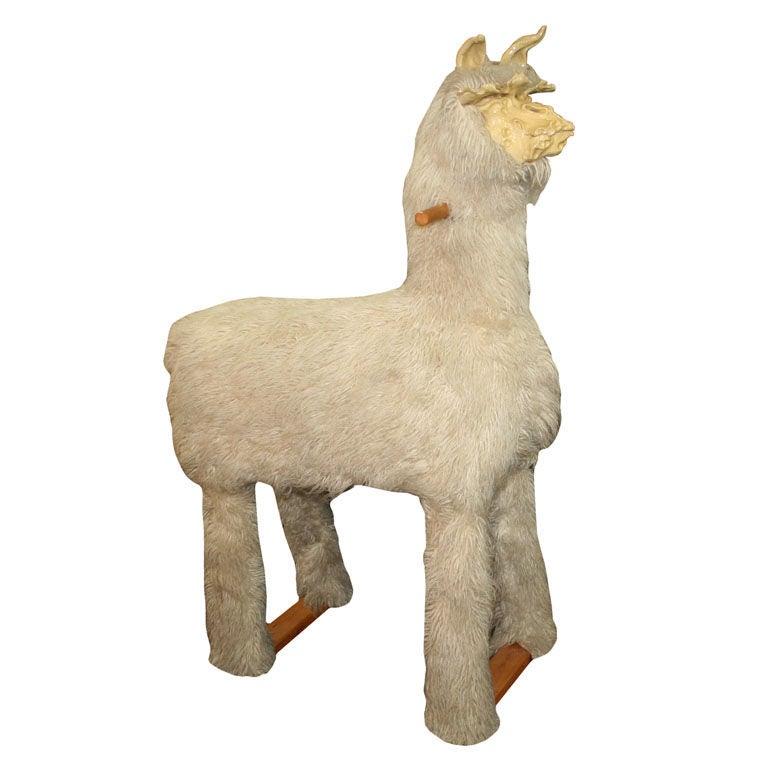 Fantastic Modern Lalanne Style Design Life Size Llama