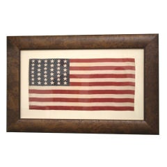"""39 Star """"Unofficial Count"""" American Flag c. 1875-76"""