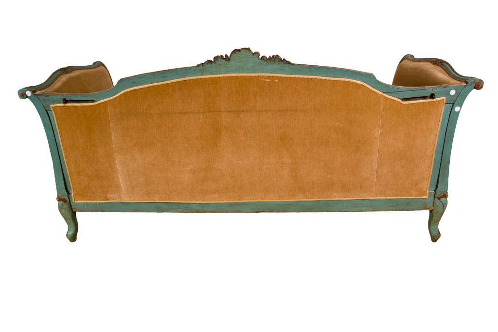 Vintage Louis Xv Style Daybed Sofa Image 3
