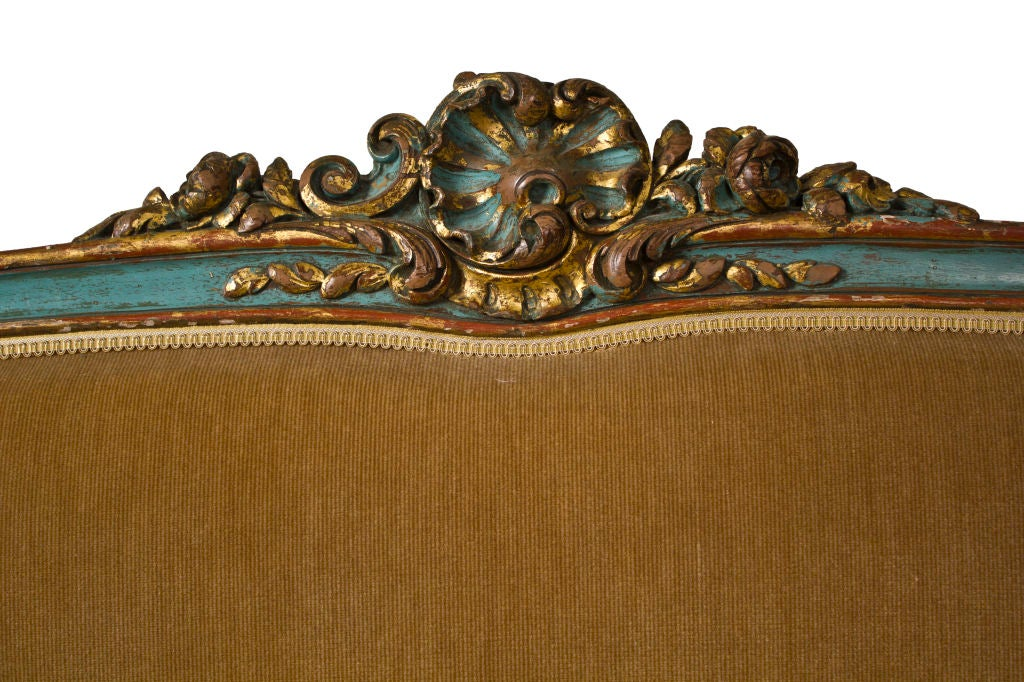 Vintage Louis XV Style Daybed / Sofa For Sale 4