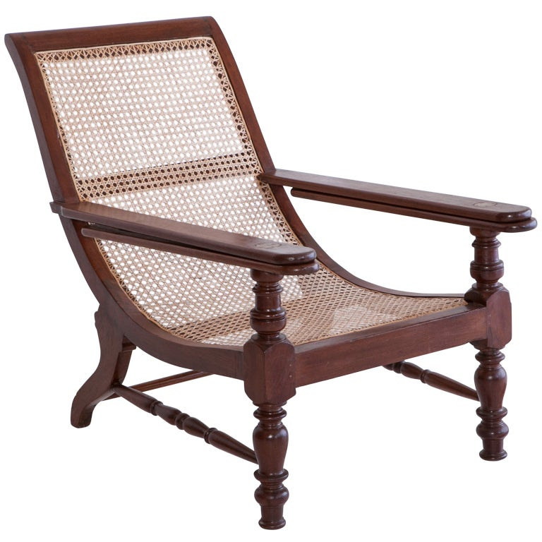 Anglo Indian Teak Plantation Chair At 1stdibs