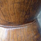 Large Solid Wood Rice Mortar from the Philippines image 5