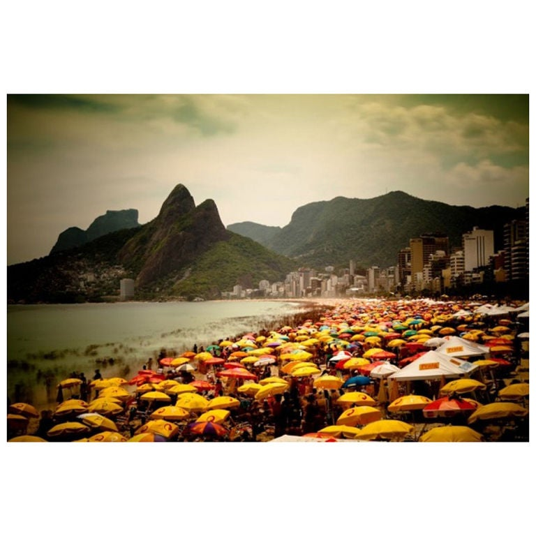 Large Color Photograph of Ipanema Beach by Brian Hodges 1