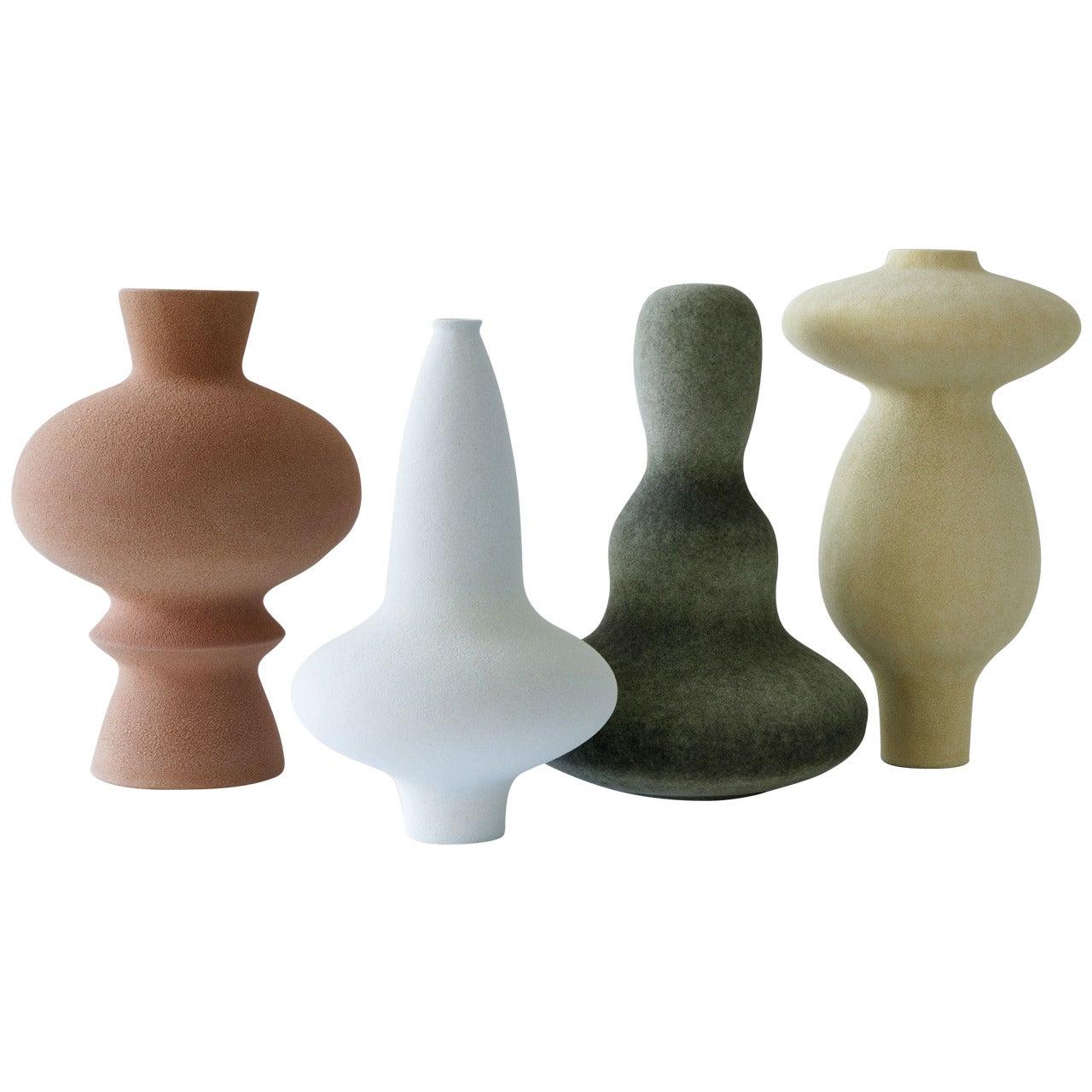 Unique Ceramic Vases by Turi Heisselberg Pedersen