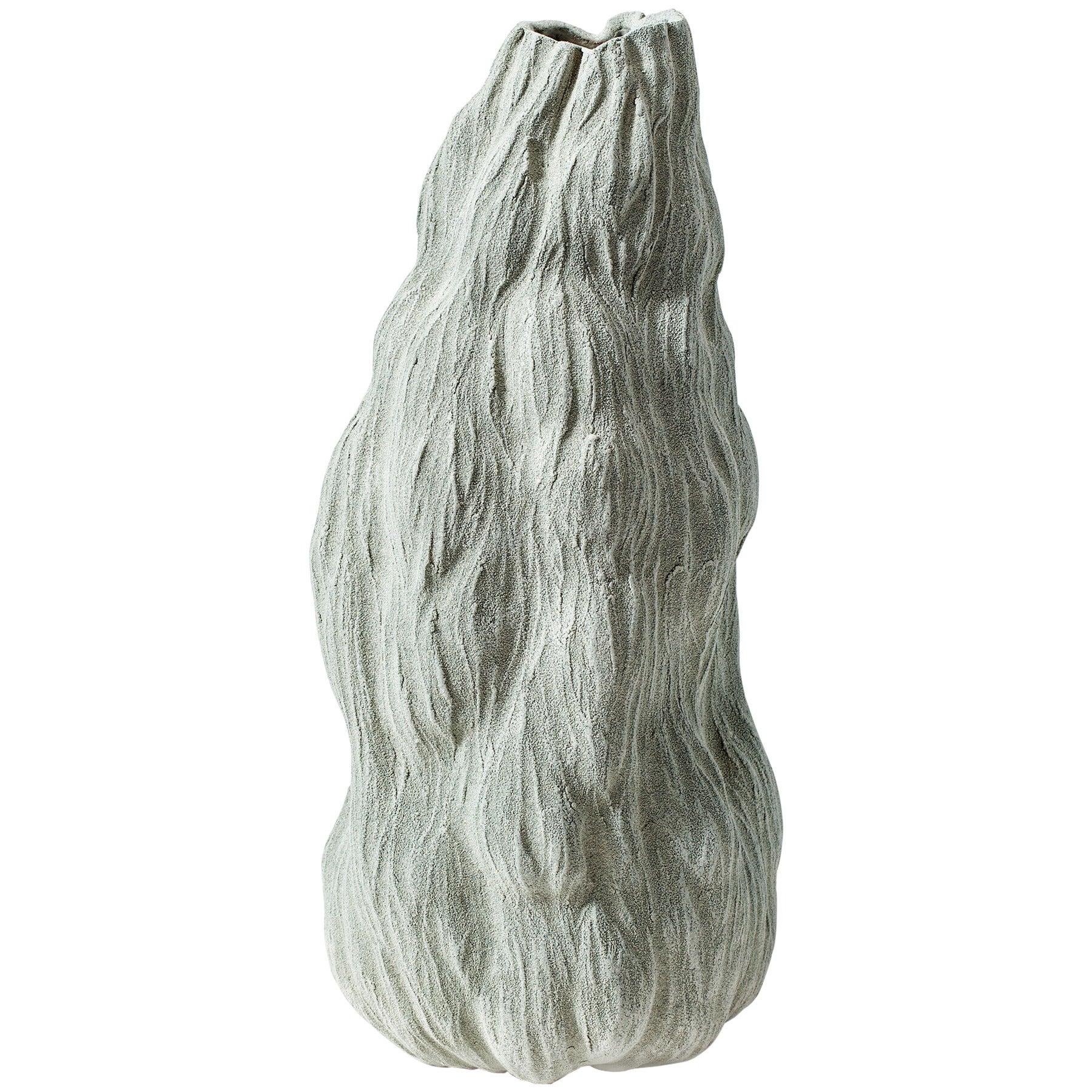 Green Organic Vase by Turi Heisselberg Pedersen