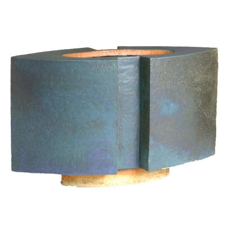 Modern Ceramic Vessel For Sale