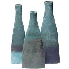 A Group of Three Vases by Nancy Angus
