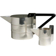 Gae Aulenti Teapot and Creamer