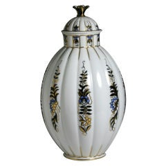 Art Deco Vase and Cover