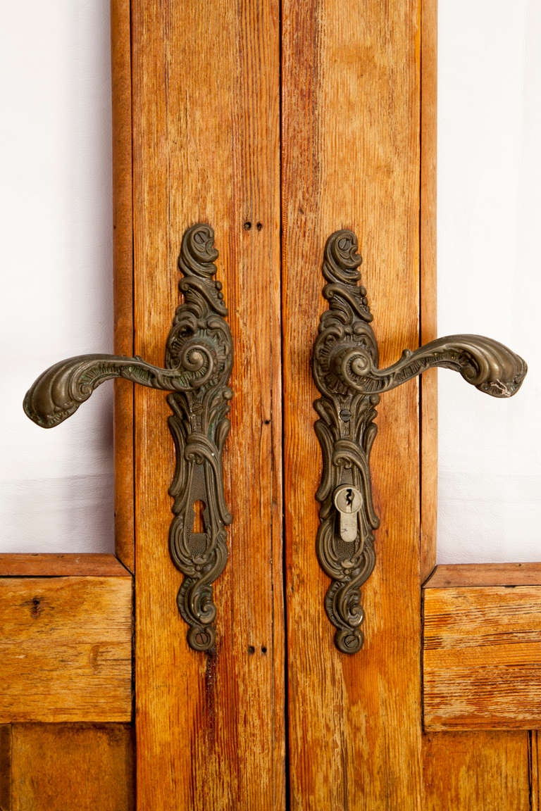 Antique French Ship Doors In Good Condition For Sale In Asheville, NC