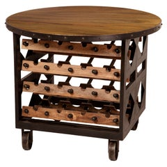 Hand-Forged Wine Table