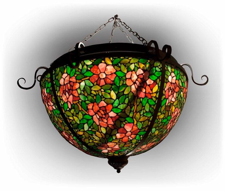 large tiffany style chandelier 1 - Tiffany Chandelier