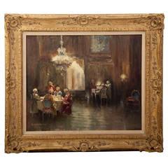 Original Oil Painting by A. Schausmann