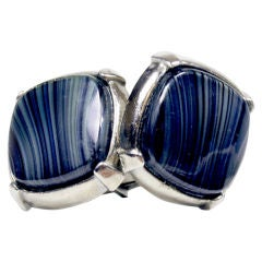 Banded Agate Cufflinks