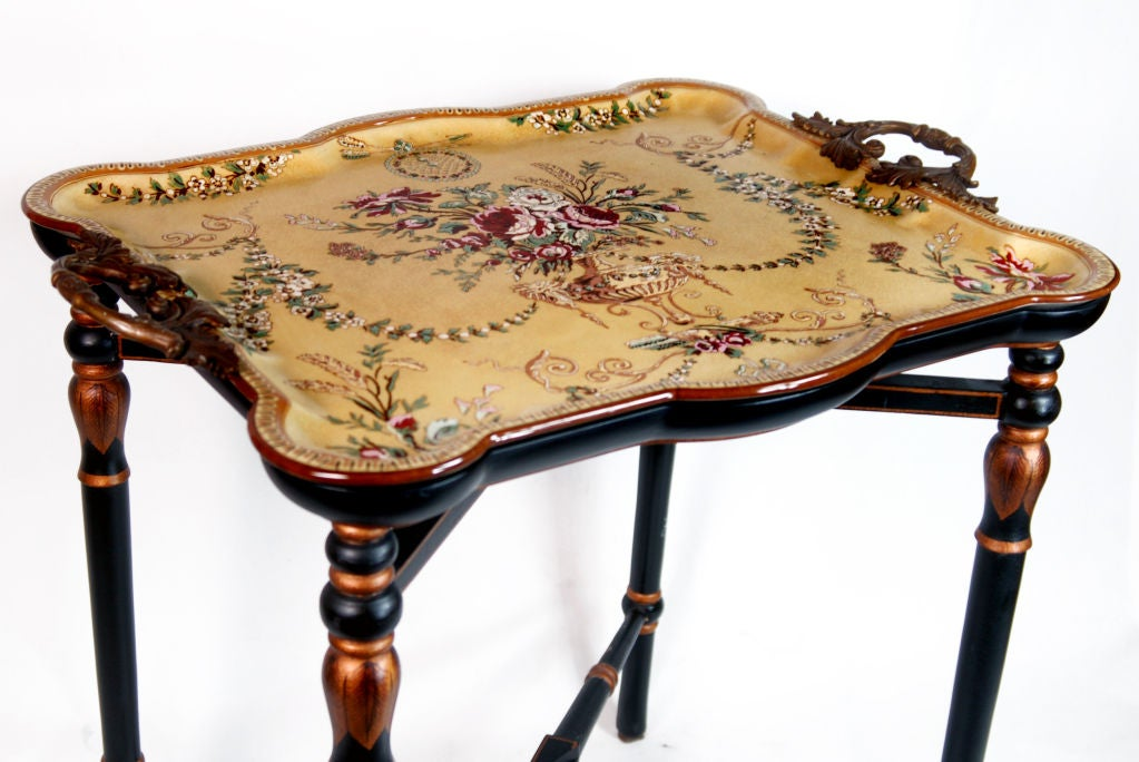 Porcelain Tray Table 3