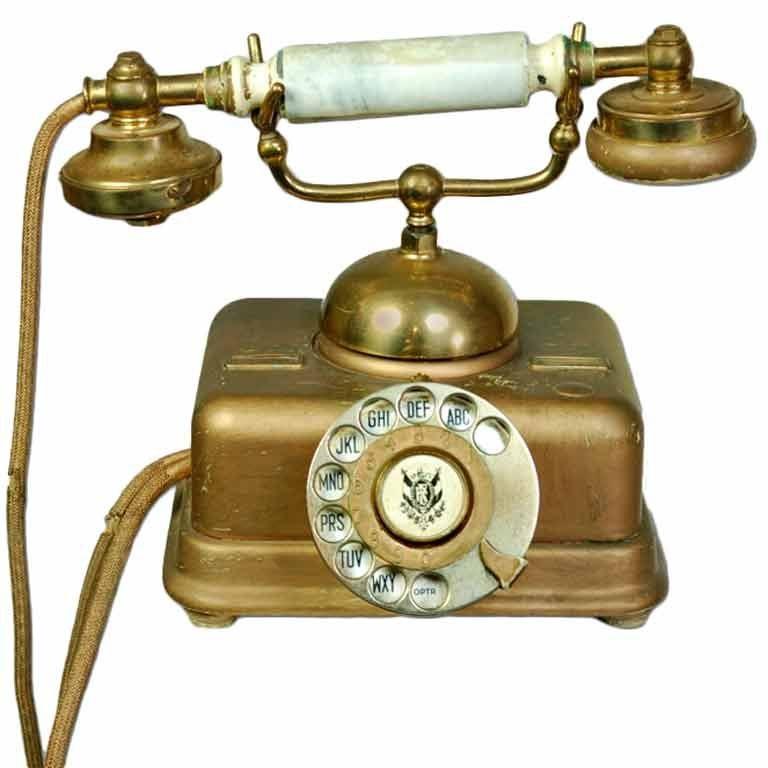 1920's Boudoir Rotary Telephone 1