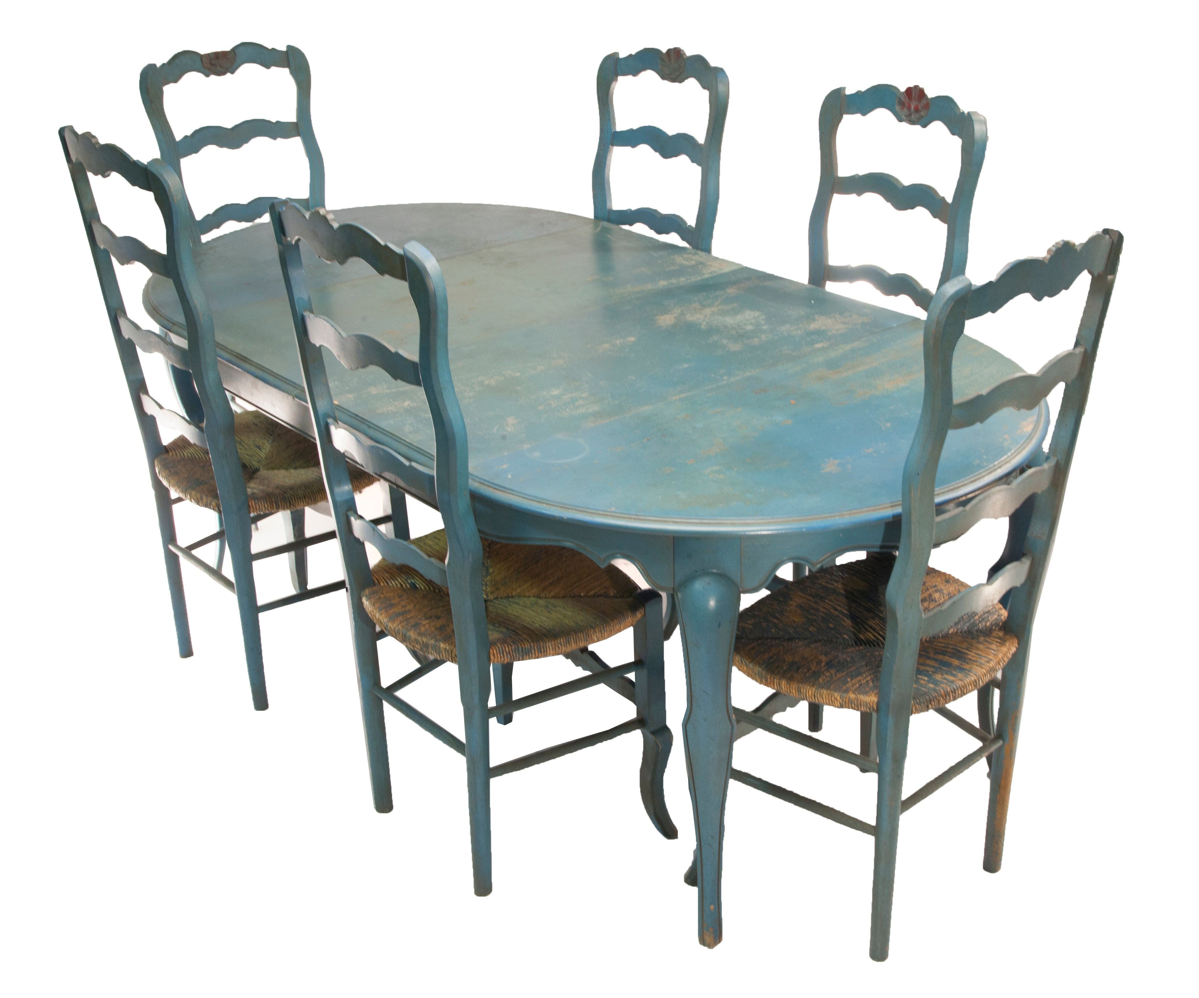1980 Jacques Grange Table and Chairs from France For Sale at 1stdibs