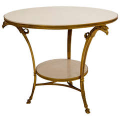1980 Jacques Grange Table And Chairs From France At 1stdibs