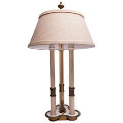 1940s Bouillotte Style Table Lamp