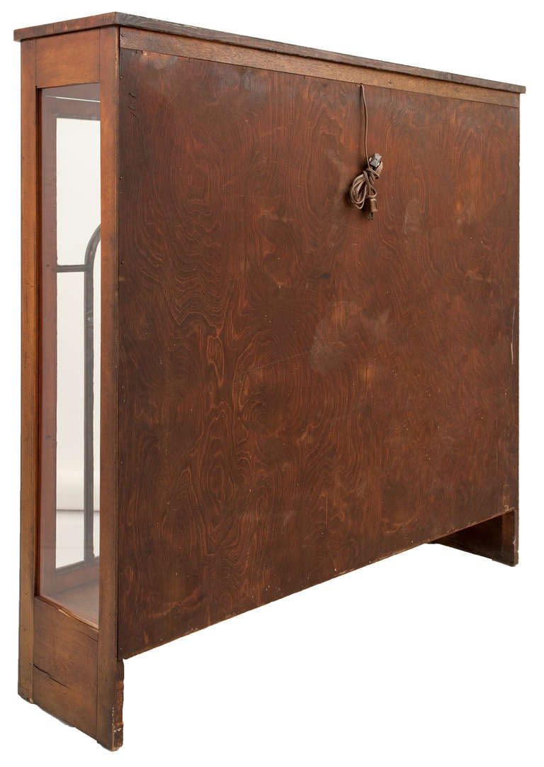 Biedermeier style vitrine art deco cabinet for sale at 1stdibs for Sideboard vitrine