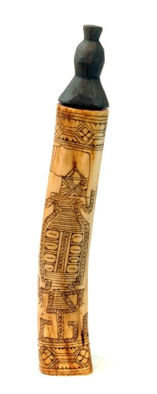 Batak Medicine Bone In Excellent Condition For Sale In Asheville, NC