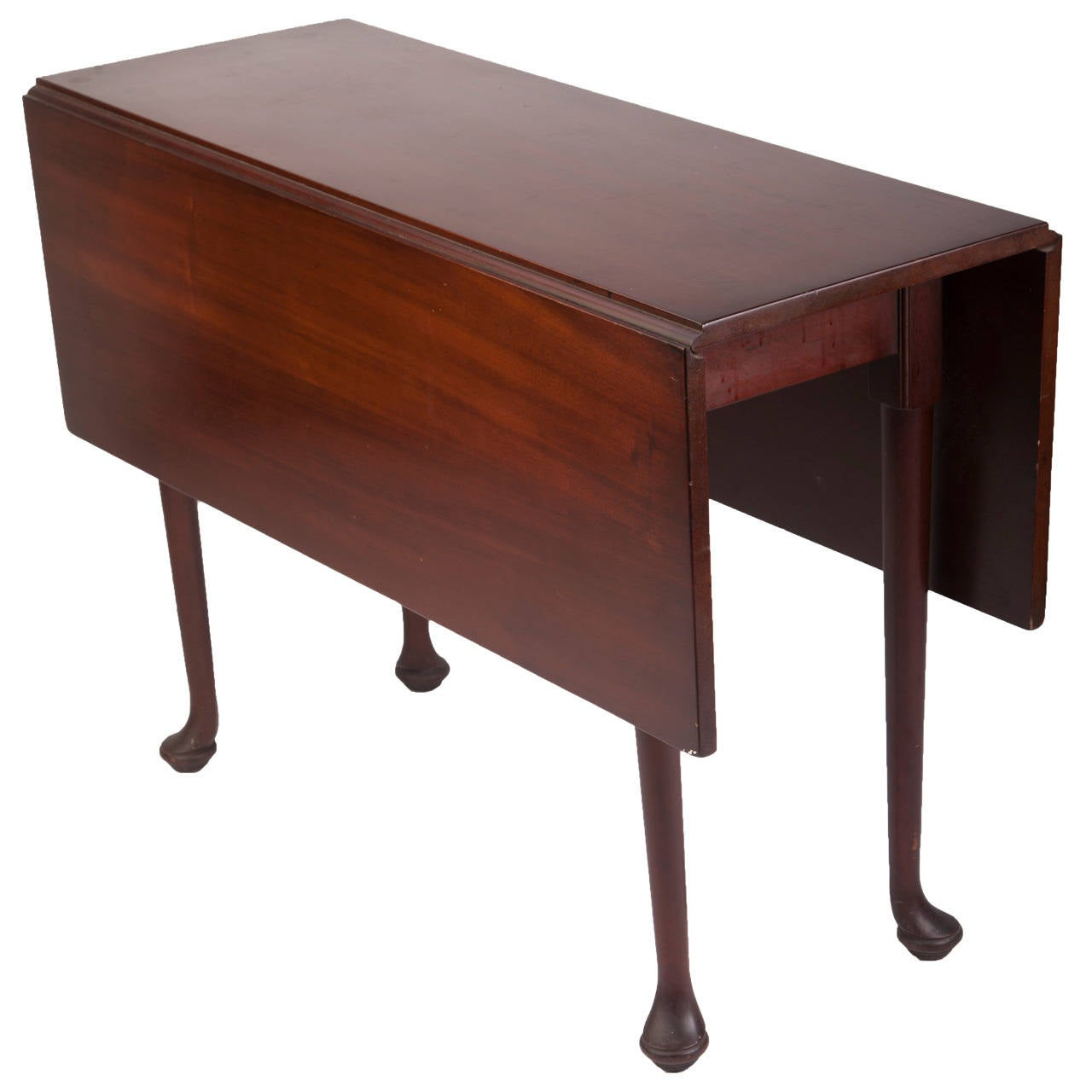 Midcentury Kittinger Mahogany Drop Leaf Table For