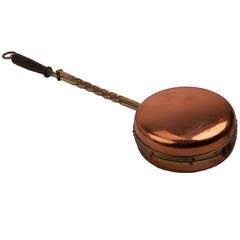 Copper and Brass Chestnut Roaster