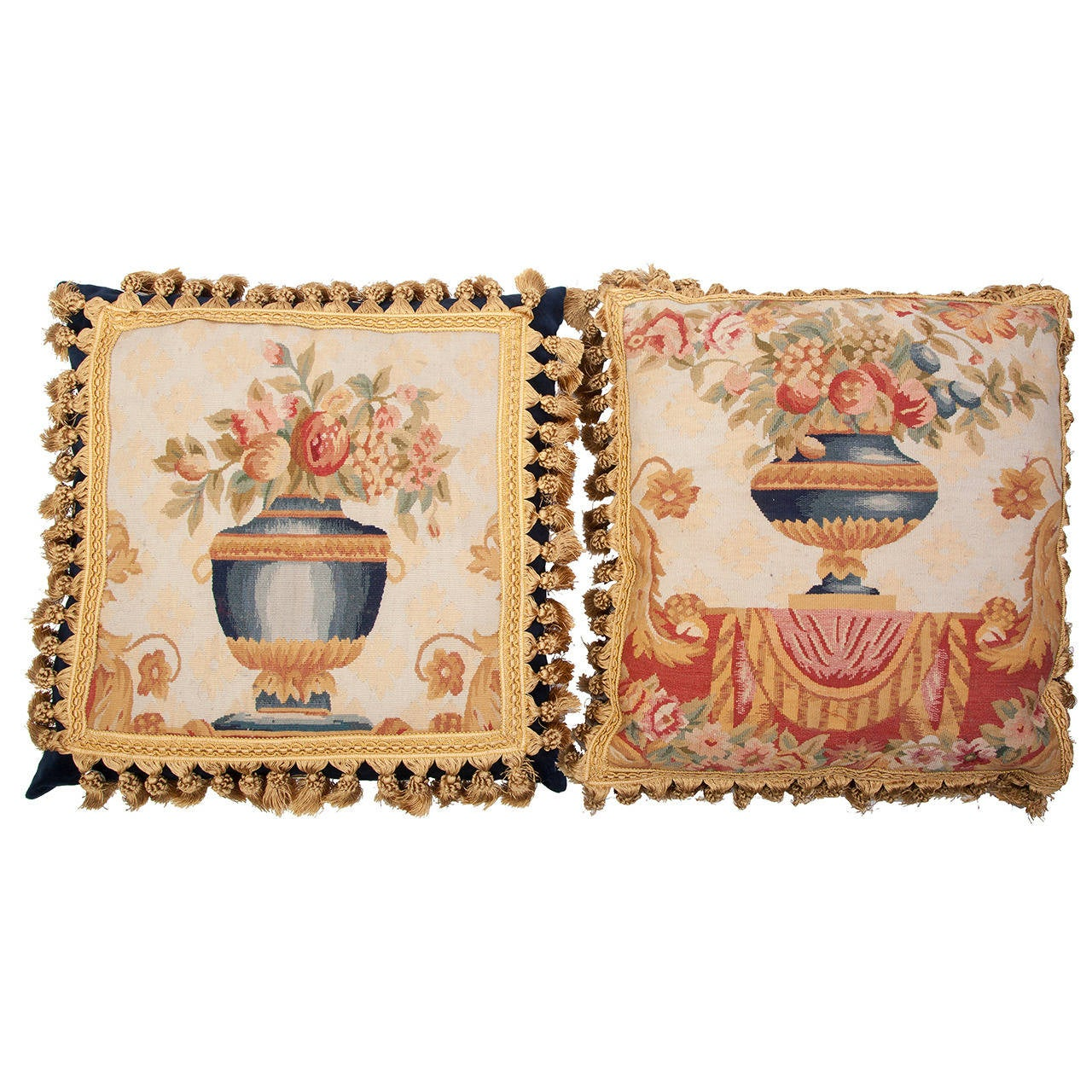 Aubusson Tapestry Pillows