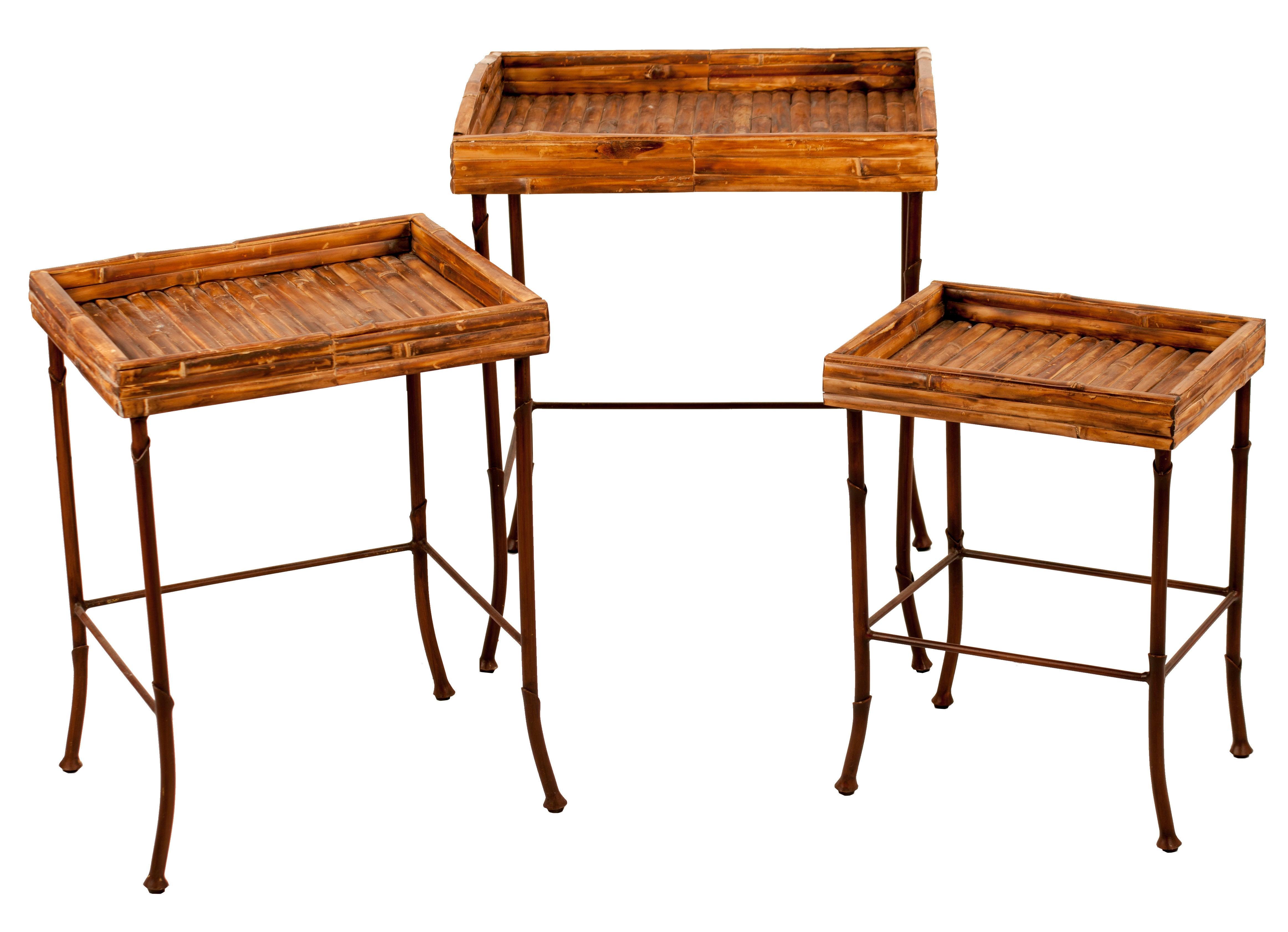 ORG_BambooTables1 Incroyable De Table Vintage Des Idées