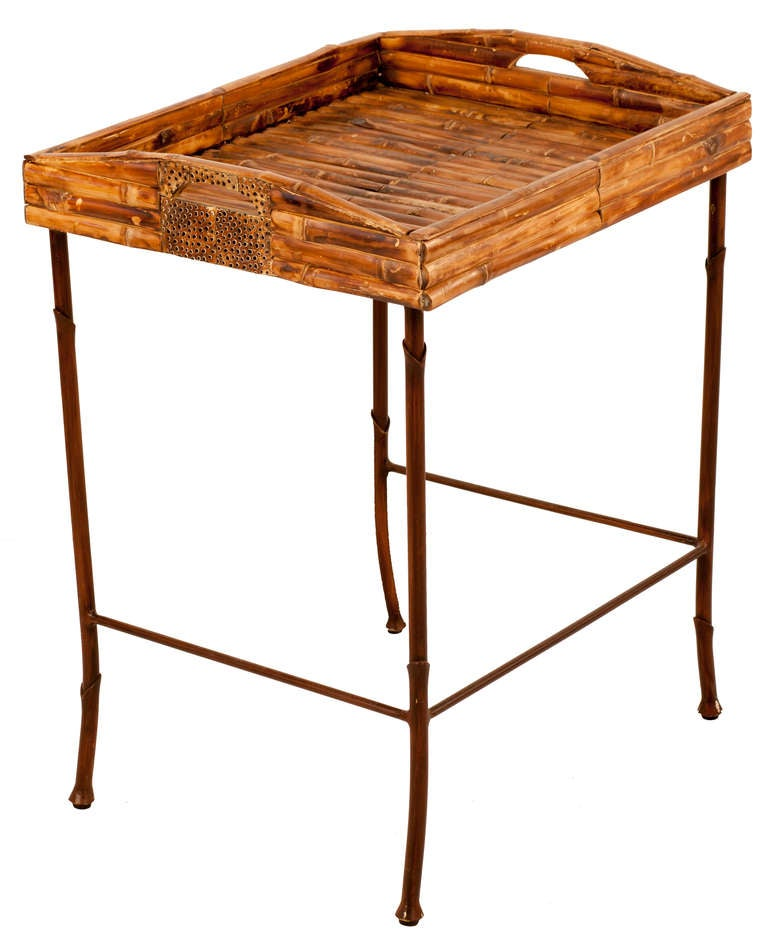 Bamboo Nesting Tables For Sale 3