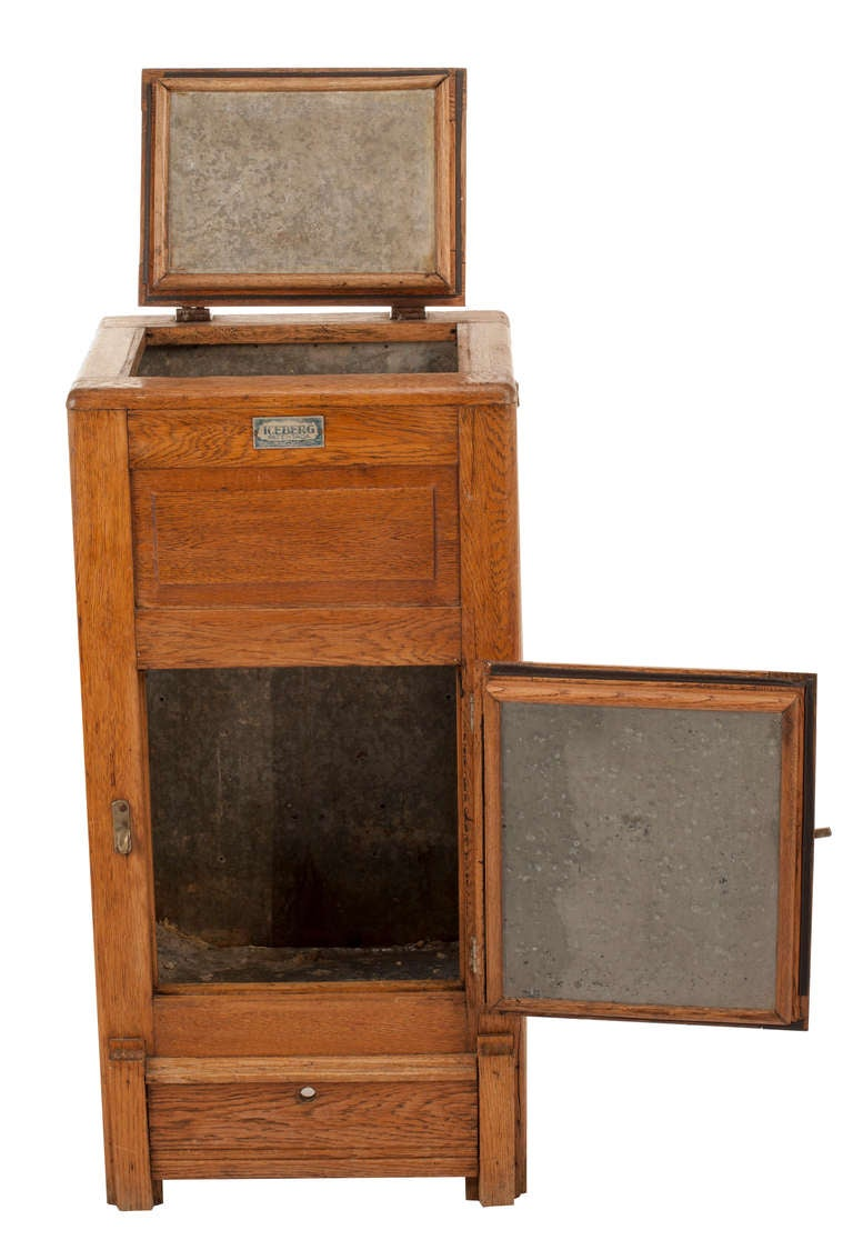 Antique Mission Oak Icebox For Sale At 1stdibs