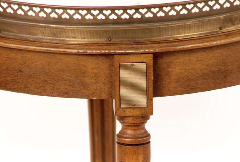 Trio of Early 20th Century Bouillotte Tables For Sale 2