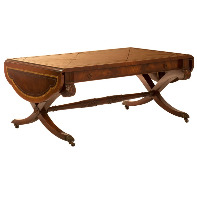 1940 39 S Style Cocktail Table With Drop Leaves At 1stdibs