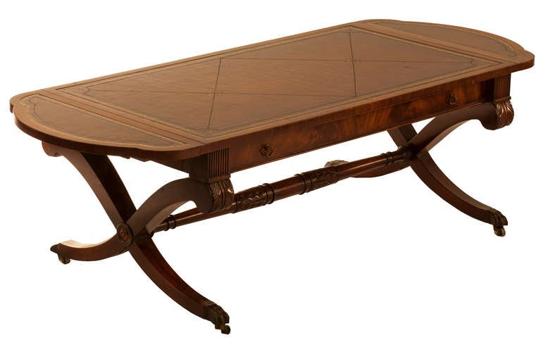 1940 S Style Cocktail Table With Drop Leaves At 1stdibs