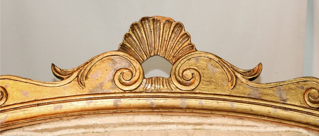 Enchanting French Empire Style Chaise Longue 7
