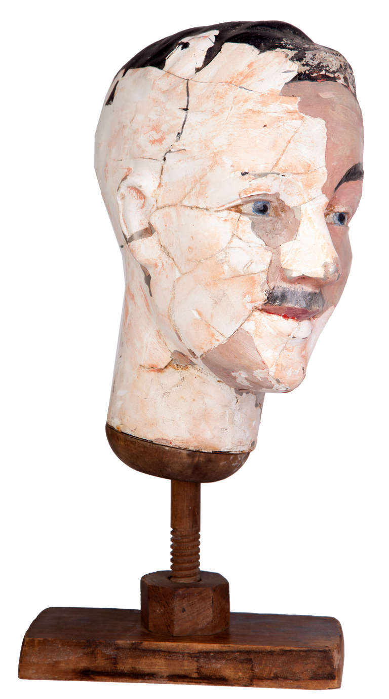 Papier m ch maquette for sale at 1stdibs for Paper mache objects