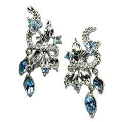 Mid-Century Coro Creeper Earrings