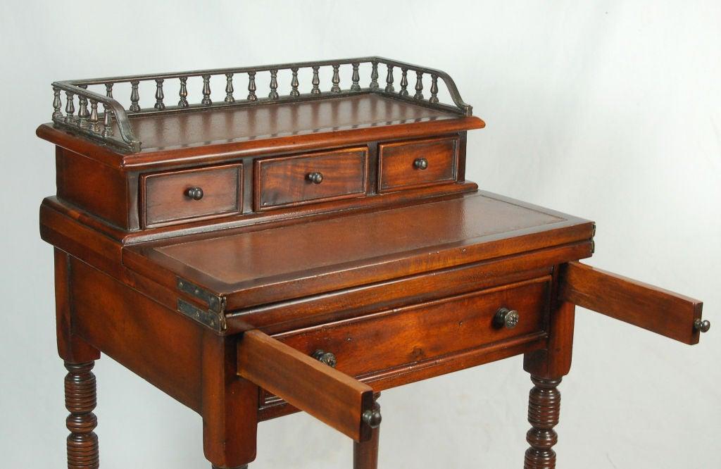 Astonishing Pair Of Regency Style Secretary Desk On Casters Interior Design Ideas Grebswwsoteloinfo