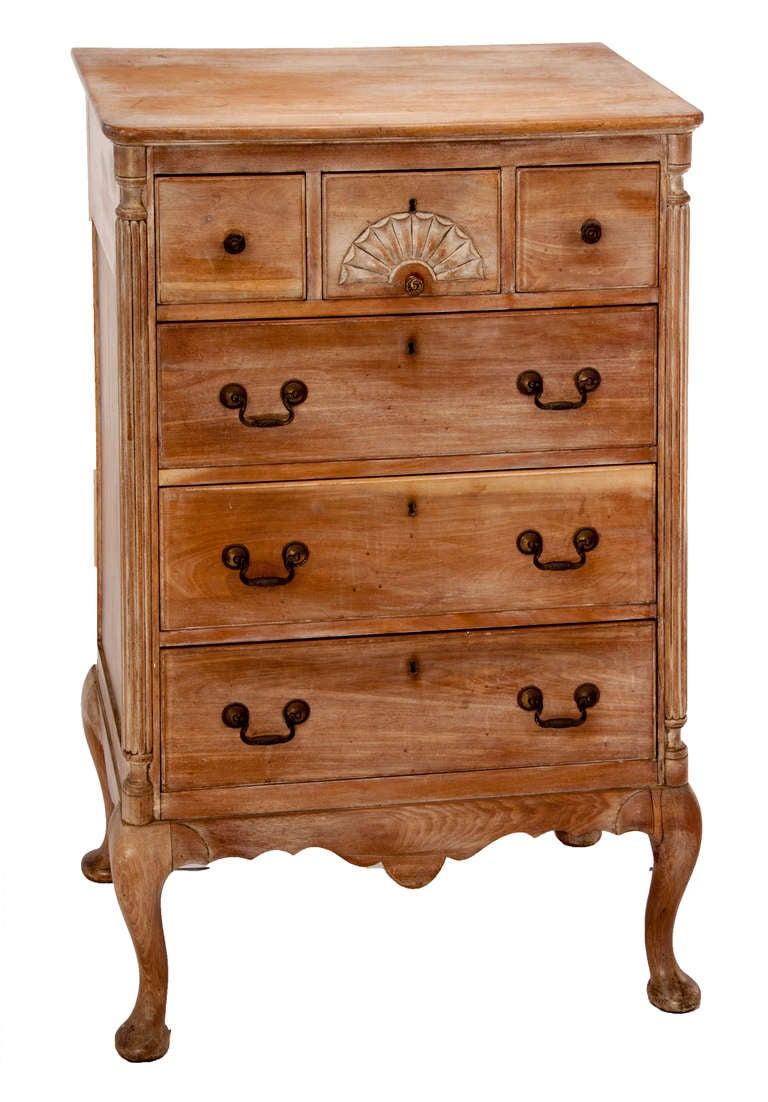 Queen Anne Style Chest of Drawers 2