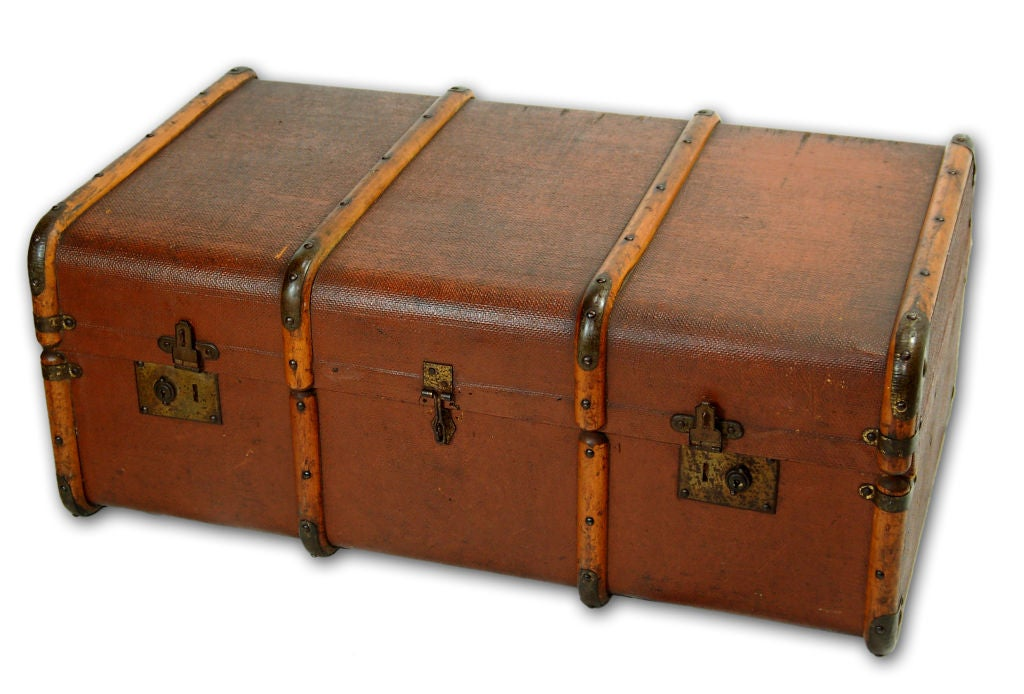 dating old trunks Gary daniel has been interested in restoring trunks since he bought an old dome-top trunk at an antique auction he spent time restoring it back to original condition.