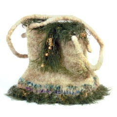 Handmade Mohair Ladies Purse
