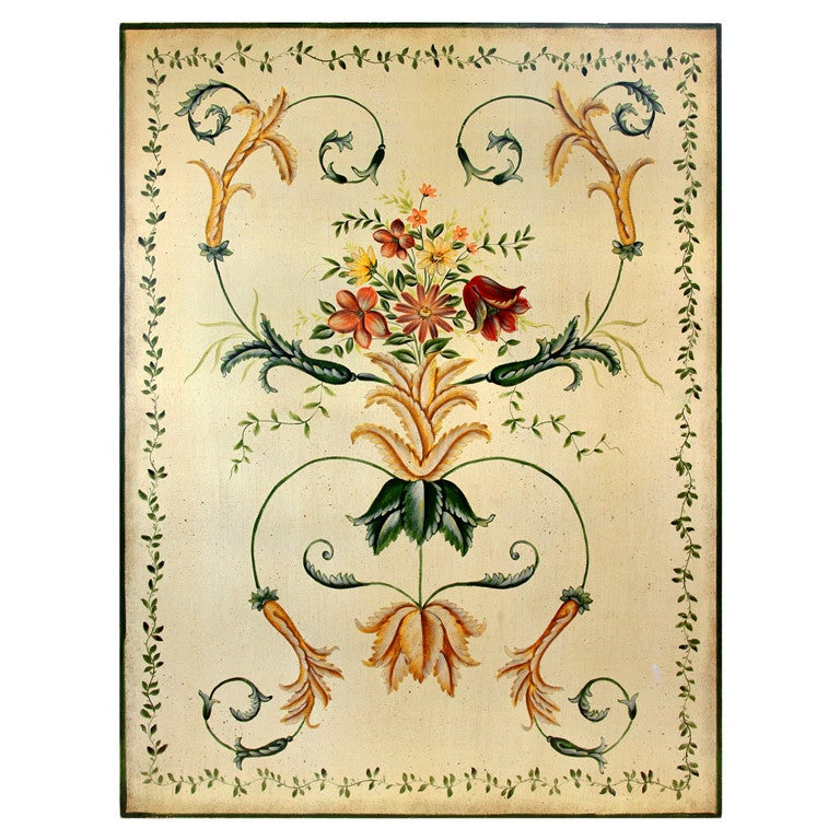 Ornamental French Roccoco Inspired Plaque