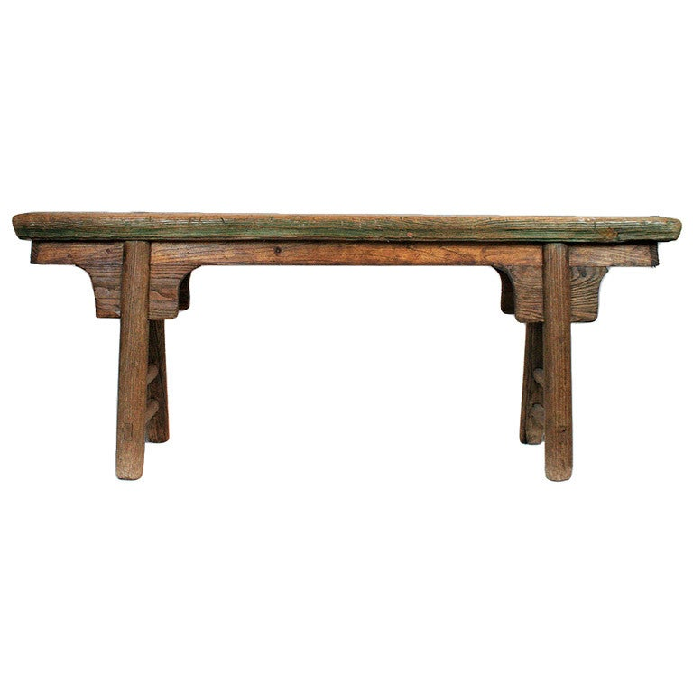 Primitive Bench From Shanxi China At 1stdibs