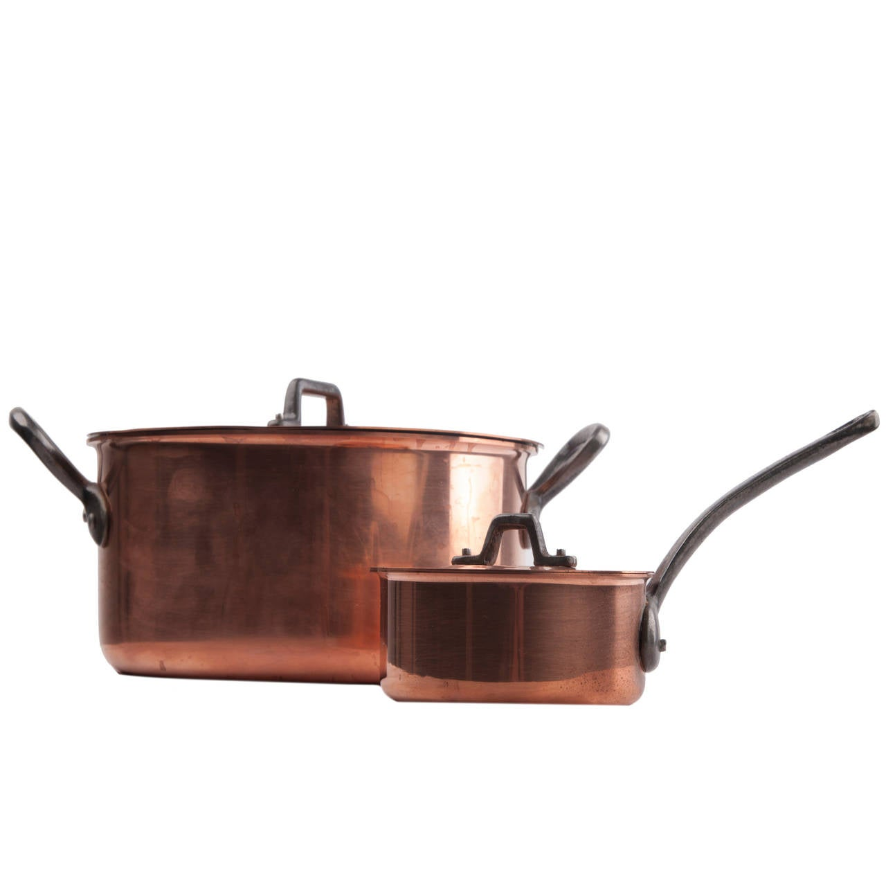 Baumalu copper pots