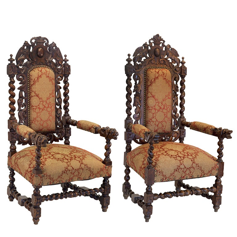 jacobean chairs at 1stdibs