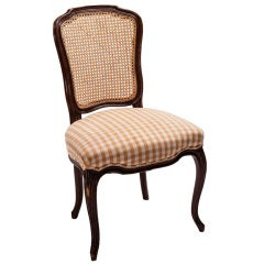 Caneback Pierre Deaux Chair with Double Welt
