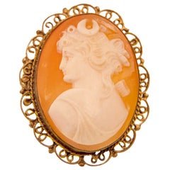 Hand-Carved Cameo