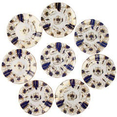 Set of Eight Grosvenor Fine Bone, China