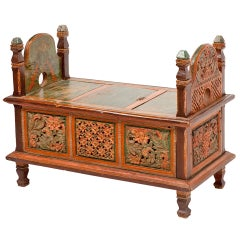 Small Indian Dowery Chest