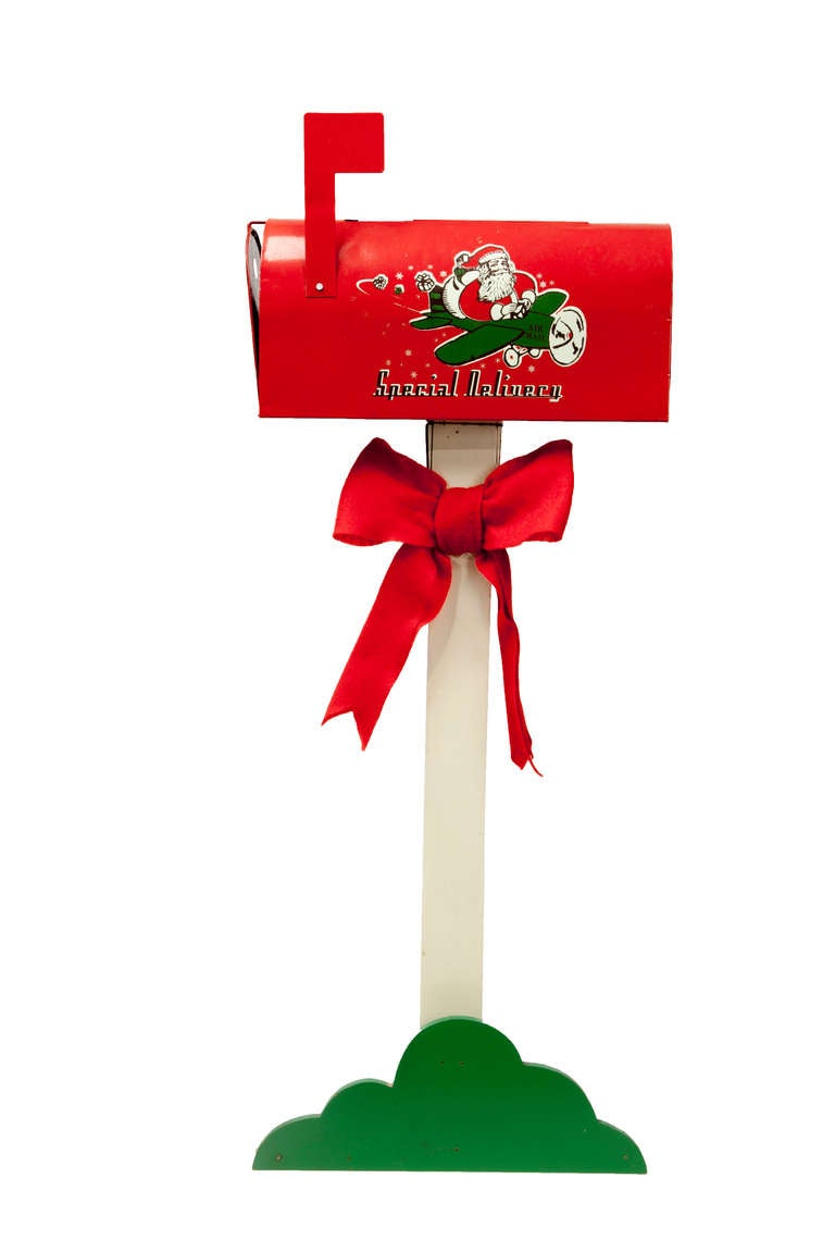 letters to santa mailbox for sale vintage santa mailbox for at 1stdibs 24455 | MailBox l